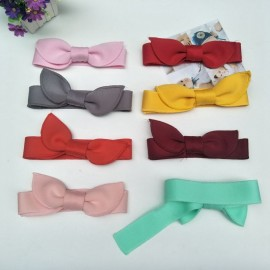 Adjustable Hairbands Hair Accessories Cute Rabbit Ears Baby Hair Band Cartoon Headwraps Headband Multicolor Choice Girls HB180