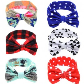 Baby Bow Knot Headband Toddler Headwraps Infant girls Cotton Big bow hair band Kids Hair Accessories turban HB520S