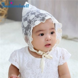 Bnaturalwell Baby Girls Bonnet Retro Cap Princess Hats Photography Cute Palace Sun Hats Cotton cap New fashion style H202S