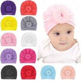 Bnaturalwell Fashion Donut Baby Hat Newborn Elastic Cotton Baby Beanie Cap Multicolor Infant Soft Turban Hats headwraps H036S
