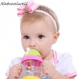 Cute Baby Glisten Bow Knot Headband Little Girls bow Elasticity headband Kids hair accessories 1pc HB516