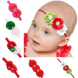 Kids Elastic flower headband Headbands Hair Girls baby Bowknot Hairband baby girl accessories set photography HB268S