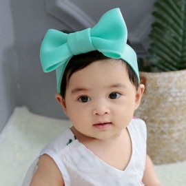 Kids Girls Adjustable Headbands Babe Turban Children Bowknot Rabbit Ear Hairband Hair Accessories Baby head wrap Drop Ship HB181