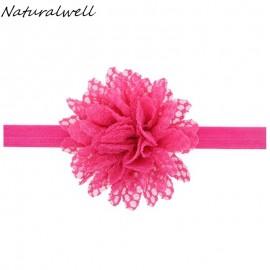 Naturalwell Baby Flower Headband Photography Prop Girls Head Wrap Props Children Flower Hairbands Accesssories 10pcs HB167
