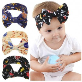 Naturalwell Baby Headbands Stretch soft nylon head wraps Infant headband Baby Gift Hair bow Knot Turban Newborn Photo Prop HB074