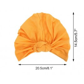 New Baby girl's Knot turban hat Stretchy Cloche Cap Turban Bowknot Infant Cap Spring Autumn Kids Hats Beanie Accessories H151S
