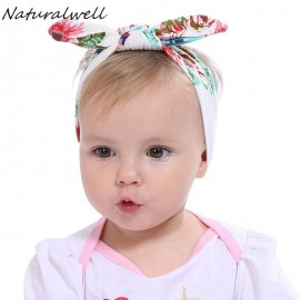 Top Knot Headband Baby girl's Headbands Toddler Knotted Headband Knit flower Head Wrap Baby Shower gift HB392S