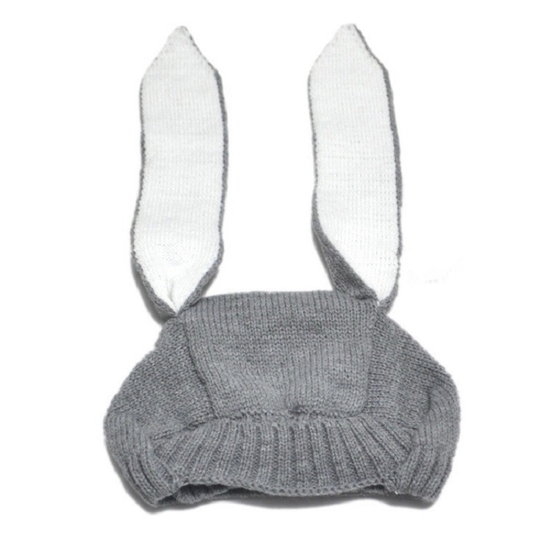 Baby-Crochet-Bunny-Hat-Knitted-Bugs-Rabbit-Ears-Baby-Hats-Beanie-Boy-or-Girl-Photo-prop-Shower-gift--32948818555