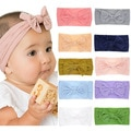 Baby-Headbands-Baby-Girl-Bow-Headband-Big-Bow-Headwrap-Wide-Nylon-Head-wraps-Infant-girl-Hair-bows-T-32955772579