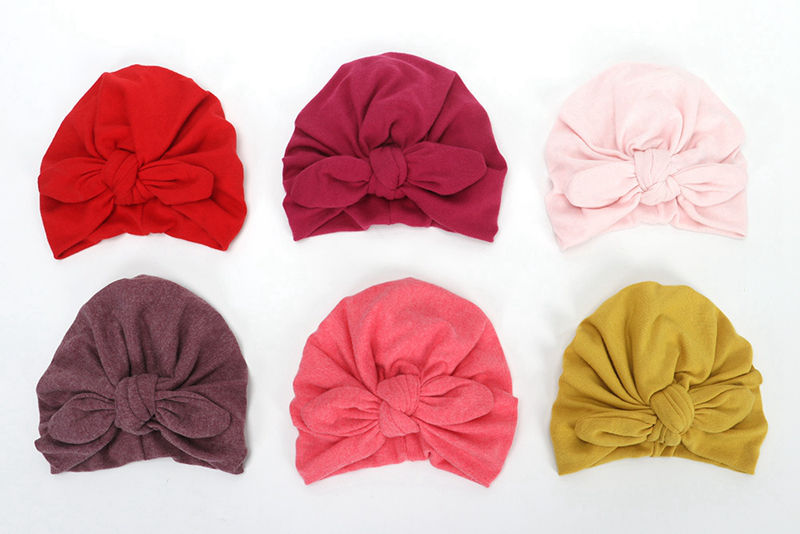 Baby-turban-look-hat-Newborn-Knot-bow-headwrap-Winter-warm-cap-Cotton-beanies-Infant-Turban-head-wra-32955935349