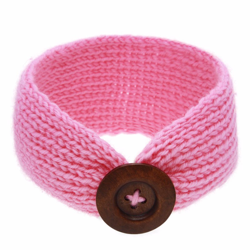 Naturalwell-Crochet-Child-Headband-Finished-With-A-Wooden-Button-Little-Girls-Turban-Photo-Prop-Chil-32777399657